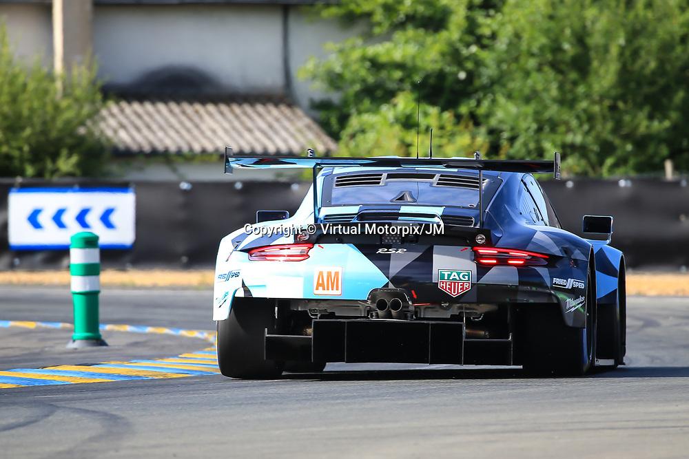 #77, Dempsey Proton Racing, Porsche 911 RSR, LMGTE Am, driven by: Christian Ried, Julien Andlauer, Matt Campbell, 24 Heures Du Mans  2018, , 16/06/2018,