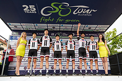 Team Sunweb (GER) prior to 1st Stage of 25th Tour de Slovenie 2018 cycling race between Lendava and Murska Sobota (159 km), on June 13, 2018 in  Slovenia. Photo by Matic Klansek Velej / Sportida