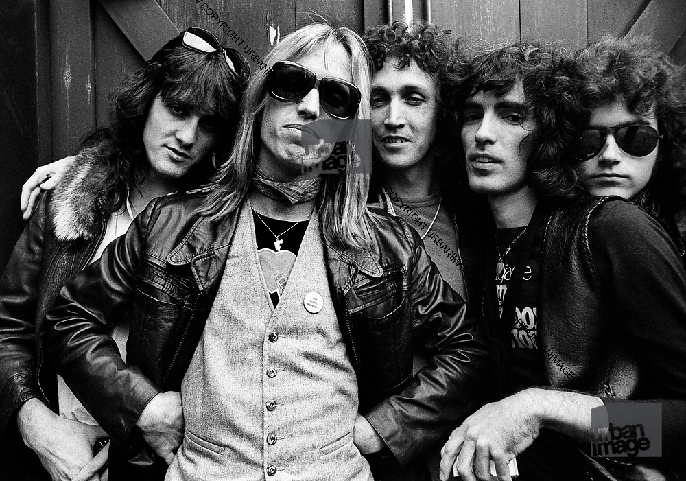 Tom Petty and the Heartbreakers<br />  taken behind the studio that they were using in San Francisco in <br /> 1979
