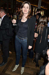 AMANDA BERRY Chief Executive of BAFTA at a screening of 2 short films as part of the Corinthia Hotel's Artist in Residence held at The Corinthia Hotel, Northumberland Avenue, London on 12th May 2014.