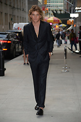 September 9, 2017 - New York, NY, USA - September 8, 2017 New York City..Jordan Barrett attending the Daily Front Row's Fashion Media Awards at Four Seasons Hotel New York Downtown on September 8, 2017 in New York City. (Credit Image: © Kristin Callahan/Ace Pictures via ZUMA Press)