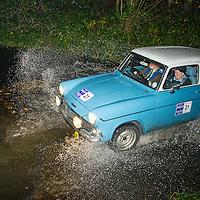 Car 21 Bob McClean Susan McClean Ford Anglia 105E