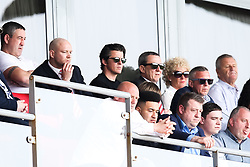 New Fleetwood Town head coach Joey Barton watches from the stands - Mandatory by-line: Robbie Stephenson/JMP - 21/04/2018 - FOOTBALL - Highbury Stadium - Fleetwood, England - Fleetwood Town v Wigan Athletic - Sky Bet League One