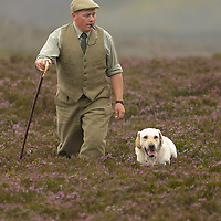 The gamekeepers of Glen Lethnot estate make the final checks and preparations .in the build up  to the Glorious 12th, the official start of the red grouse shooting season (this year Monday 13th August)  ANGUS, SCOTLAND AUG 10 ..The Glorious Twelfth is usually used to refer to August 12, the start of the open season for grouse shooting in the United Kingdom. This is one of the busiest days in the shooting season, with large amounts of game being shot. It is also a major boost to the rural economy. ..Since the start of the season traditionally does not begin on a Sunday, it is sometimes postponed to August 13, as in 2001 . In recent years, the event has been hit by hunt saboteurs, the 2001 foot and mouth crisis (which further postponed the date in affected areas ) and the effect of sheep tick and the gut parasite Trichostrongylus tenius...The Game Conservancy Trust conducts scientific research into Britain's game and wildlife. Advising farmers and landowners on improving wildlife habitat and lobbying for agricultural and conservation policies based on science..Many of their  supporters take part in field sports.