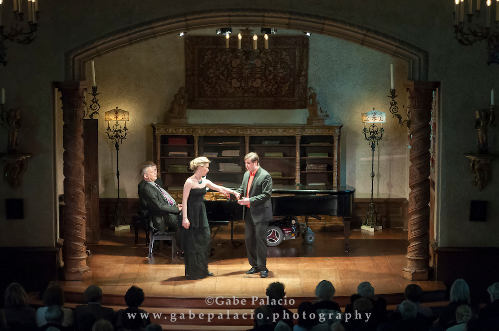 Vocal Rising Stars performance in the Music Room of the Rosen House at Caramoor in Katonah New York on March 15, 2015. <br /> (photo by Gabe Palacio)