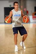 DESCRIZIONE : Bormio Ritiro Nazionale Italiana Maschile Preparazione Eurobasket 2007 Allenamento Preparazione fisica<br /> GIOCATORE : Massimo Bulleri<br /> SQUADRA : Nazionale Italia Uomini EVENTO : Bormio Ritiro Nazionale Italiana Uomini Preparazione Eurobasket 2007 GARA : <br /> DATA : 22/07/2007 <br /> CATEGORIA : Allenamento <br /> SPORT : Pallacanestro <br /> AUTORE : Agenzia Ciamillo-Castoria/E.Castoria<br /> Galleria : Fip Nazionali 2007 <br /> Fotonotizia : Bormio Ritiro Nazionale Italiana Maschile Preparazione Eurobasket 2007 Allenamento <br /> Predefinita :