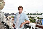 Setbezoek bij de nieuwe K3-film: K3 Love Cruise, op  de SS Rotterdam in Rotterdam.<br /> <br /> op de foto: