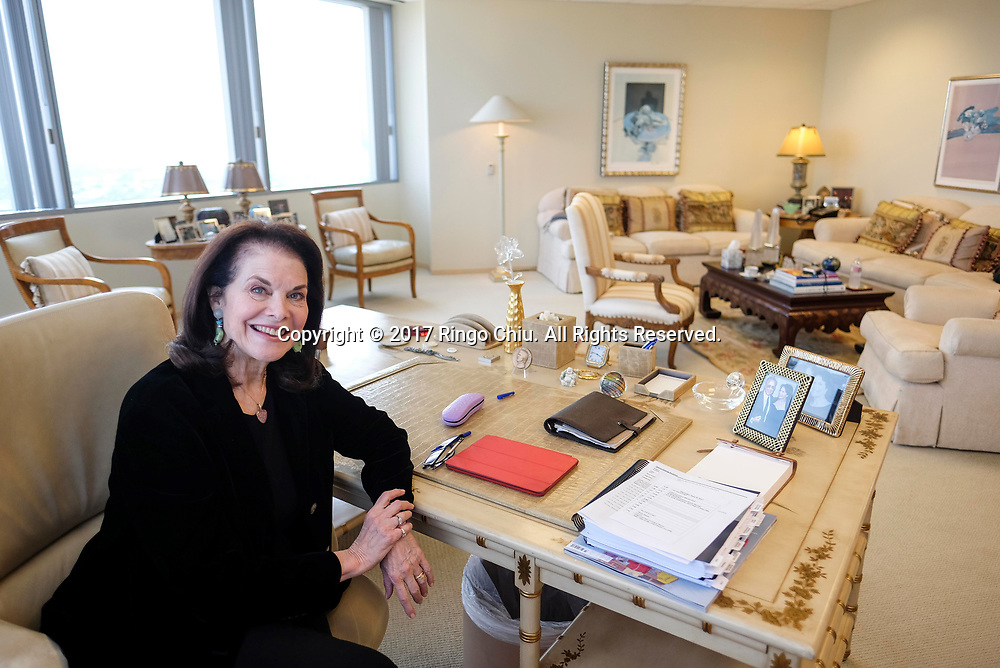 Sherry Lansing, former CEO of Paramount Pictures, now philanthropist, author, head of Sherry Lansing Foundation. (Photo by Ringo Chiu)<br /> <br /> Usage Notes: This content is intended for editorial use only. For other uses, additional clearances may be required.