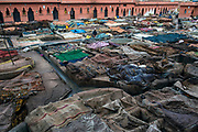 The smelly Tanneries of Marrakesh