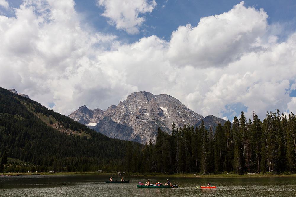 Mount Moran, Grand Teton National Park, Wyoming, United States