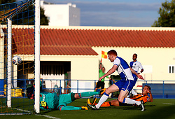Rory Gaffney of Bristol Rovers scores a goal but it is disallowed for offside - Mandatory by-line: Robbie Stephenson/JMP - 18/07/2017 - FOOTBALL - Estadio da Nora - Albufeira,  - Hull City v Bristol Rovers - Pre-season friendly
