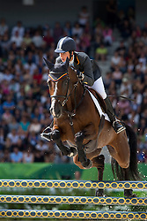 Cristina Pinedo Sendagorta, (ESP), Helena XII - Jumping Eventing - Alltech FEI World Equestrian Games™ 2014 - Normandy, France.<br /> © Hippo Foto Team - Leanjo De Koster<br /> 31-08-14