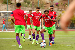 Bobby Reid of Bristol City - Mandatory by-line: Matt McNulty/JMP - 22/07/2017 - FOOTBALL - Tenerife Top Training - Costa Adeje, Tenerife - Bristol City v Atletico Union Guimar  - Pre-Season Friendly