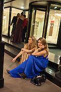 TARKA RUSSELL; VICTORIA DASHWOOD The Royal Caledonian Ball 2013. The Great Room, Grosvenor House. Park lane. London. 3 May 2013.