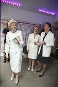 Princess Alexandra, Alison Vaissiere and Penny Marks. The opening  day of the Grosvenor House Art and Antiques Fair.  Grosvenor House. Park Lane. London. 14 June 2006. ONE TIME USE ONLY - DO NOT ARCHIVE  © Copyright Photograph by Dafydd Jones 66 Stockwell Park Rd. London SW9 0DA Tel 020 7733 0108 www.dafjones.com