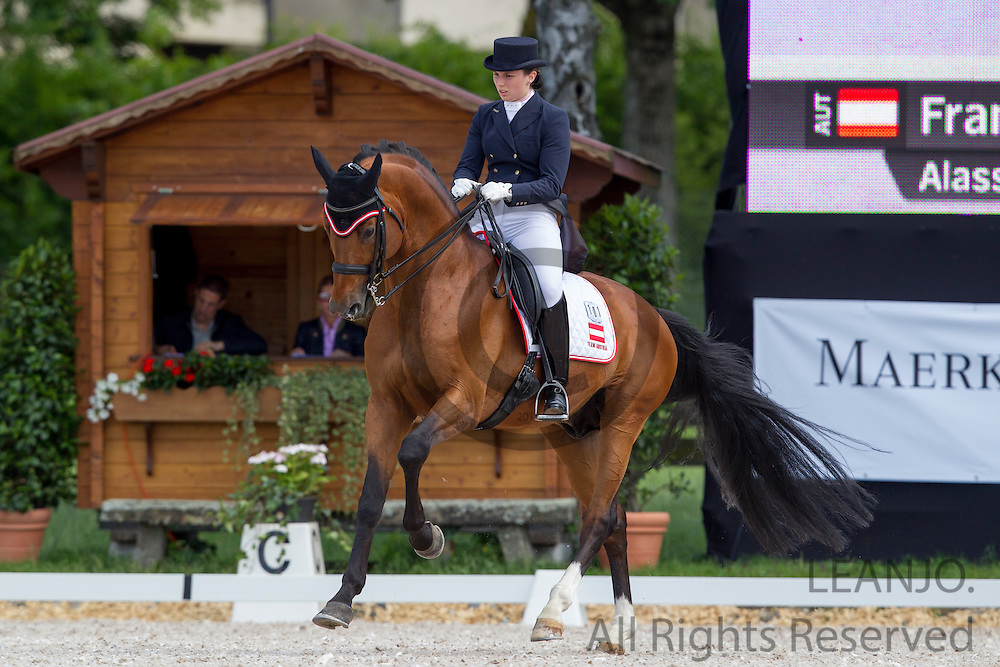 Franziska Fries - Alassio's Boy<br /> FEI European Championships Dressage Juniors and Young Riders 2012<br /> © DigiShots