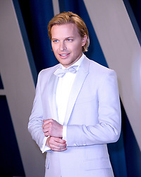 February 9, 2020, Beverly Hills, CA, USA: BEVERLY HILLS, CALIFORNIA - FEBRUARY 9: Ronan Farrow attends the 2020 Vanity Fair Oscar Party at Wallis Annenberg Center for the Performing Arts on February 9, 2020 in Beverly Hills, California. Photo: CraSH/imageSPACE (Credit Image: © Imagespace via ZUMA Wire)