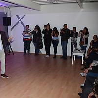 Metepec, México.- Gerardo Quiroz, Actor y director de PROART, durante la inauguración de la escuela de actuación PROART. Agencia MVT / Arturo Hernández.