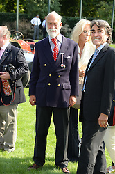 HRH PRINCE MICHAEL OF KENT at the St.James's Concours of Elegance at Marlborough House, London on 5th September 2013.