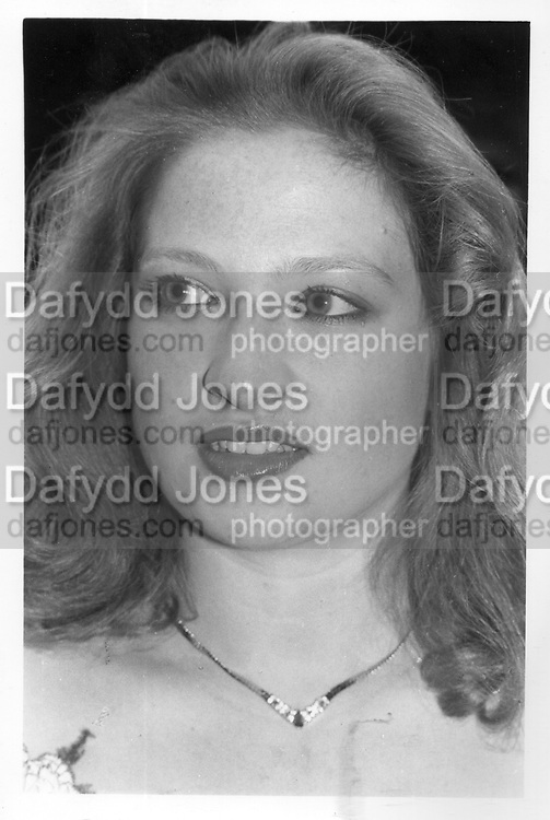 Michelle Morgan-Witts 1984. ONE TIME USE ONLY - DO NOT ARCHIVE  © Copyright Photograph by Dafydd Jones 66 Stockwell Park Rd. London SW9 0DA Tel 020 7733 0108 www.dafjones.com