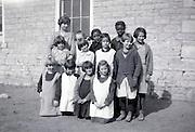 1920s USA ethnicity mixed rural elementary school girls class