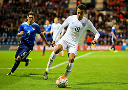 Dele Alli of England U21 in action - Mandatory byline: Matt McNulty/JMP - 07966386802 - 03/09/2015 - FOOTBALL - Deepdale Stadium -Preston,England - England U21 v USA U23 - U21 International