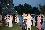 ZAHIA DEHAR; STEPHANE RUFFIER-MERAY, 2016 SERPENTINE SUMMER FUNDRAISER PARTY CO-HOSTED BY TOMMY HILFIGER. Serpentine Pavilion, Designed by Bjarke Ingels (BIG), Kensington Gardens. London. 6 July 2016