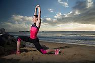 Rebecca Hoschke (AUS), June 6, 2014 - TRIATHLON : SCODY ATHLETES / Cairns Airport Adventure Festival, Clifton Beach, Cairns, Queensland, Australia. Credit: Lucas Wroe