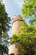 Schloss Auerbach, Bensheim, Bergstraße, Hessen, Deutschland | Auerbach Castle, castle ruins, overlooking Odenwald, Bensheim, Bergstrasse, Hesse, Germany
