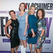 Nederlandse premiere van de film I Feel Pretty bij Pathe ArenA. Op de foto: Kristel Zweers, Dianne Liesker, Jennifer Evenhuis en Esther van der Voort