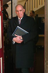 © London News Pictures. 28/03/2013 . Windsor, UK.  Detective Inspector Mark Bissell , leaving The Guild Hall in Windsor, Berkshire following the opening of an inquest into the death of Russian oligarch Boris Berezovsky. Boris Berezovsky was found lying on a bathroom floor of his home in Ascot, Berkshire with a ligature around his neck.Photo credit : Ben Cawthra/LNP