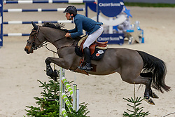 BLUMAN Daniel (ISR), Sancha LS<br /> Genf - CHI Geneve Rolex Grand Slam 2019<br /> Prix des Communes Genevoises<br /> 2-Phasen-Springen<br /> International Jumping Competition 1m50<br /> Two Phases: A + A, Both Phases Against the Clock<br /> 13. Dezember 2019<br /> © www.sportfotos-lafrentz.de/Stefan Lafrentz
