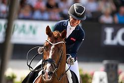 Bronkhurst Juliane, GER, Ibiza<br /> World ChampionshipsYoung Dressage Horses<br /> Ermelo 2018<br /> © Hippo Foto - Dirk Caremans<br /> 04/08/2018