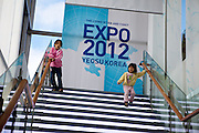 "Expo information center in the South Korean city Yeosu which will host the Expo 2012 exhibition  under the theme ""The Living Ocean and Coast"". Yeosu (Yeosu-si) is a city in South Jeolla Province. Old Yeosu City, which was founded in 1949, Yeocheon City, founded in 1986, and Yeocheon County were merged into a new city in 1998."