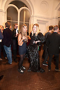 MIMI WADE; HARRIET VERNEY, Isabella Blow  by Martina Rink.  Haunch of Venison. London. 13 September 2010., DO NOT ARCHIVE-© Copyright Photograph by Dafydd Jones. 248 Clapham Rd. London SW9 0PZ. Tel 0207 820 0771. www.dafjones.com.