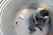 Cistern Installation at Tucson Ward 3 City Council Office