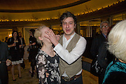LAURA MARLING; MARCUS JOHNSTONE, South Bank Show Awards, Dorchester Hotel, Park Lane. London. 20 January 2009 *** Local Caption *** -DO NOT ARCHIVE-© Copyright Photograph by Dafydd Jones. 248 Clapham Rd. London SW9 0PZ. Tel 0207 820 0771. www.dafjones.com.<br /> LAURA MARLING; MARCUS JOHNSTONE, South Bank Show Awards, Dorchester Hotel, Park Lane. London. 20 January 2009