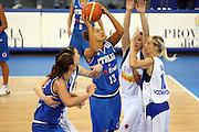 DESCRIZIONE : Ortona Italy Italia Eurobasket Women 2007 Serbia Italia Serbia Italy<br /> GIOCATORE : Manuela Zanon<br /> SQUADRA : Nazionale Italia<br /> EVENTO : Eurobasket Women 2007 Campionati Europei Donne 2007 <br /> GARA : Serbia Italia Serbia Italy<br /> DATA : 01/10/2007 <br /> CATEGORIA : Tiro<br /> SPORT : Pallacanestro <br /> AUTORE : Agenzia Ciamillo-Castoria/E.Castoria<br /> Galleria : Eurobasket Women 2007 <br /> Fotonotizia : Ortona Italy Italia Eurobasket Women 2007 Serbia Italia Serbia Italy<br /> Predefinita :
