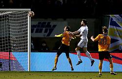 Stuart Dallas of Leeds United scores a goal to make it 1-1 - Mandatory by-line: Robbie Stephenson/JMP - 09/01/2017 - FOOTBALL - Cambs Glass Stadium - Cambridge, England - Cambridge United v Leeds United - FA Cup third round