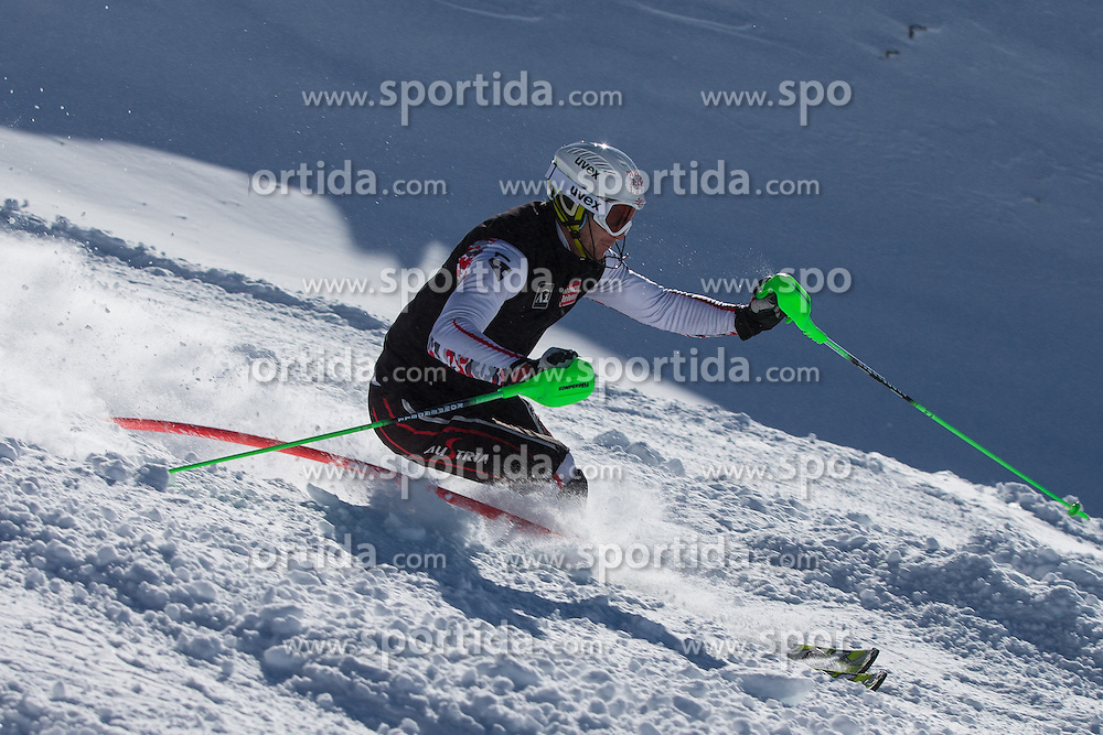 17.10.2012, Moelltaler Gletscher, Flattach, AUT, OeSV, Training, im Bild Marc Digruber (AUT) // Marc Digruber of Austria during a practice session of Austrian ski Team 'OeSV' at Moelltal Glacier in Flattach, Austria on 2012/10/17. EXPA Pictures © 2012, PhotoCredit: EXPA/ J. Groder
