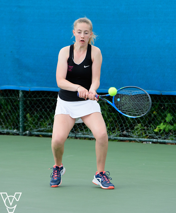 Aberdare Cup - Queenswood School [1] - Arabella Moen<br /> <br /> Team Tennis Schools National Championships Finals 2017 held at Nottingham Tennis Centre.  <br /> <br /> Picture: Chris Vaughan Photography for the LTA<br /> Date: July 14, 2017