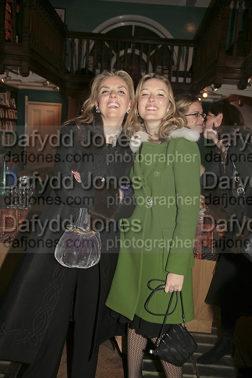 Paula White and Daisy Prince, Book launch of Pretty Things by Liz Goldwyn at Daunt <br />