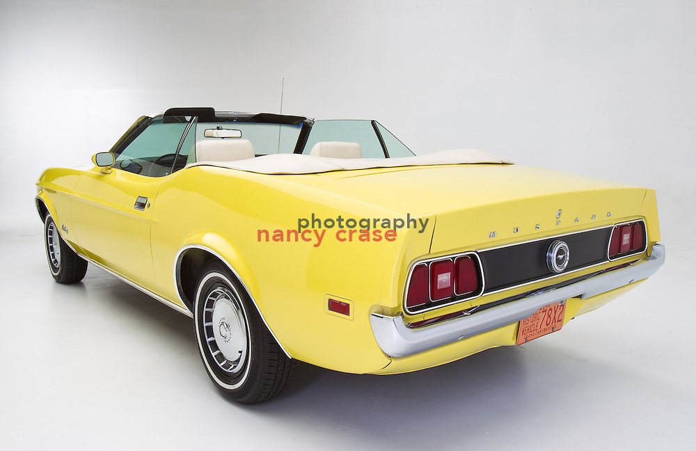 My 1971 Mustang convertible that I bought in 1971!  Just had it detailed, so it's ready to sell.