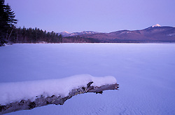 The view across Chocorua Lake in New Hampshire's White Mountains.  Chocurua, NH