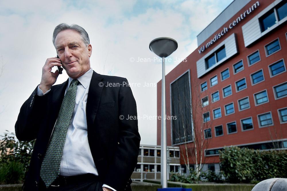 Nederland, Amsterdam , 7 april 2011..Gary S. Kaplan, heeft MD is voorzitter en CEO van de Virginia Mason Medical Center (VMMC) in Seattle sinds februari 2000..Foto:Jean-Pierre Jans