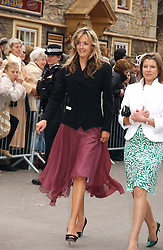 LADY LOUISE FITZROY at the wedding of Laura parper Bowles to Harry Lopes held at Lacock, Wiltshire on 6th May 2006.<br /><br />NON EXCLUSIVE - WORLD RIGHTS