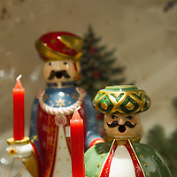 TREVISO, ITALY - DECEMBER 06:  Details of Christmas figurines are seen at Morandin shop on December 6, 2011 in Treviso, Italy. Christmas Markets are popular in Northern Italian cities, selling festive items including lights, nativity scenes, decorations and local festive handicrafts. In most cities they will run from the end of November to January 6th. HOW TO LICENCE THIS PICTURE: please contact us via e-mail at sales@xianpix.com or call our offices in London   +44 (0)207 1939846 for prices and terms of copyright. First Use Only ,Editorial Use Only, All repros payable, No Archiving.© MARCO SECCHI