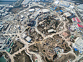 Aerial View Of Shanghai Disneyland