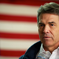 RICK PERRY held a town hall meeting at the VFW Post 10420 in advance of the South Carolina primary on 21 January.