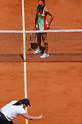 Roland Garros. Paris, France. May 28th 2012.Romanian player Sorana CIRSTEA against Na LI...